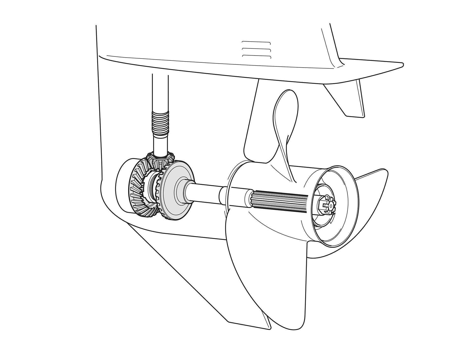 устройство стационарного лодочного мотора